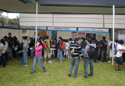 Feria laboral Isil 2010